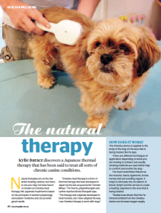 Dogs_Life_Magazine_Onnetsu_Heat_Therapy_June_2014